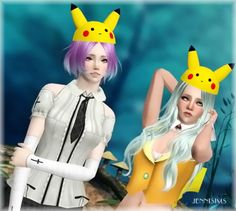 Sims 3 Finds - Pikachu Hat and tail at Jenni Sims