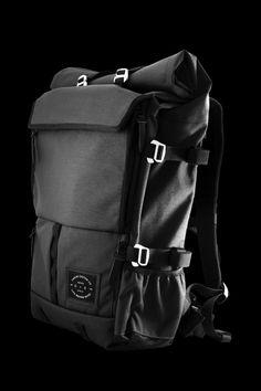 The Peloton Asphalt Motorcycle Backpack 1