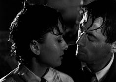 Audrey Hepburn and Gregory Peck in Roman Holiday (William Wyler, 1953). beautiful