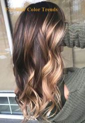 Wonderful Balayage Hair Color Ideas For 2019 35 - #balayage #color #ideas #wonde... - #2019 #35 #Balayage #color #hair #Ideas #wonde #Wonderful Brown Hair Balayage, Balayage Brunette, Hair Color Balayage, Hair Highlights, Color Highlights, Brunette Hair, Long Hair Waves, Spring Hairstyles, Thin Hairstyles