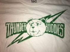 Ted the Movie Thunder Buddies T Shirt Size Large Ripple Junction White  #RippleJunction #GraphicTee