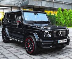 Best classic cars and more! Mercedes Benz Amg, Mercedes Jeep, Mercedes G Wagon, G Wagon Amg, Best Classic Cars, Motor Car, Luxury Cars, Dream Cars, Super Cars