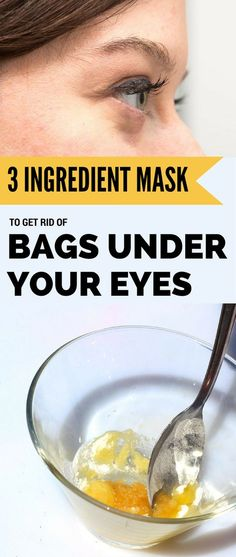 3 Ingredient Mask to Get Rid of Bags Under Your Eyes
