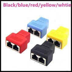 >> Click to Buy << New High LAN Ethernet Splitter Adapter RJ45 Splitter Connector Socket CAT5 CAT6 8P8C Network modular plug PC,laptop #Affiliate