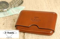GLENCHECK | Rakuten Global Market: Il Busssetto (イルブセット ) business card holder