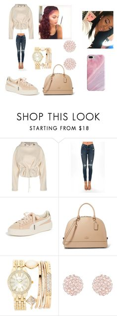 """""""Untitled #433"""" by askariwilson on Polyvore featuring Puma, Jessica Carlyle and Recover"""