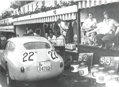 Spa 24 H Sports Car Race, 1953 🇧🇪 The Écurie Francorchamps Ferrari 212 Export driven by Charles de Tornaco/Wagner.