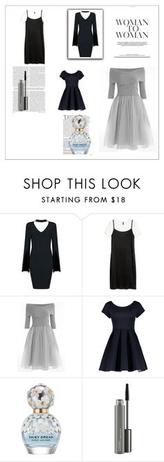 """""""s"""" by kissesday ❤ liked on Polyvore featuring Balmain, Marc Jacobs and MAC Cosmetics"""
