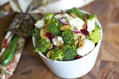 Broccoli Cauliflower Salad with Bacon