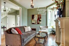 Los tonos verdes le darán ese toque natural y de serenidad a tus espacios.
