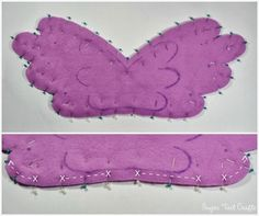 Sugar Tart Crafts: My Little Pony Costume Sew-Along - Day 10: Pegasus Wings