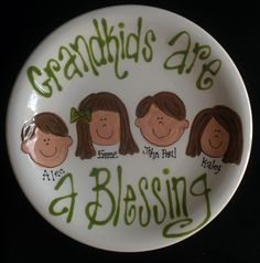 plate This custom painted plate will make a perfect mothers day gift for gr. - Stylist and Craft ideas - Pin this boardm - Help the street animals. Sharpie Plates, Sharpie Art, Pottery Plates, Ceramic Plates, Clay Plates, Pottery Painting, Ceramic Painting, Doodle, Paint Your Own Pottery