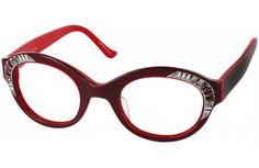 7e84367a176 Judith Leiber R91622 Progressive No Line Bifocal   Ruby   pinglasseswinglasses  readingglasses
