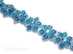 A very simple pattern for flower bracelet
