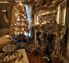 Christmas Tree, The Design House, Christmas Ideas found at Old Lucketts Store in Lucketts, VA. Amazing Christmas Beauty!