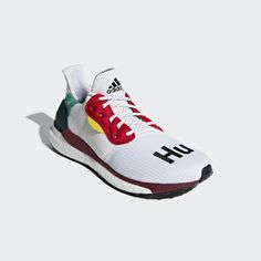 126f65551 Pharrell Williams x adidas Solar Hu Glide Shoes Cloud White 12 Mens Running  Adidas