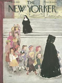 The New Yorker - Saturday, May 15, 1943 - Issue # 952 - Vol. 19 - N° 13 - Cover by : Suzanne Suba