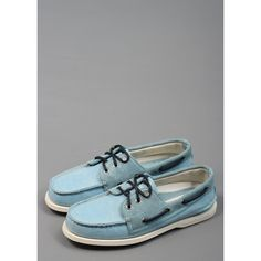 3-Eye Boat Shoes Blue