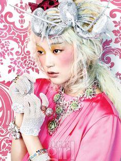 Dazzling Darling ♥ Vogue Girl Korea – Feb 2012
