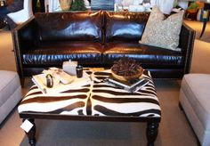 I love this coffee table!  No little girls cracking their head on the top of that.  Just look out for the corners!  :)