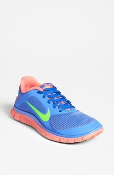 Nike+'Free+4.0+v3'+Running+Shoe+(Women)+available+at+#Nordstrom