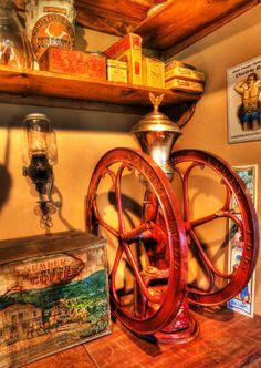 General Store Coffee Mill - nostalgia - vintage