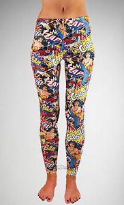 New DC Comics Super Heroes Batgirl Supergirl Wonder Woman Leggings Yoga Pants   eBay