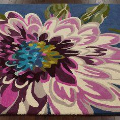 Floweret Wool Rug