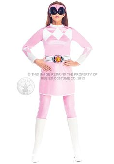 Pink Power Ranger Costume, Mighty Morphin Power Rangers - Superhero Costumes at Escapade™ UK - Escapade Fancy Dress on Twitter: @Escapade_UK