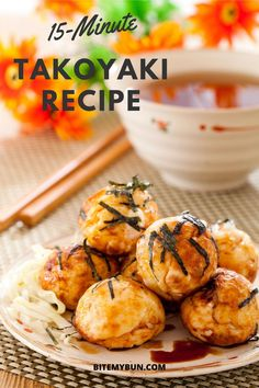 This is a recipe for an electric takoyaki maker. Here is our easy to follow recipe that is delicious!#takoyakirecipe #easyrecipe #japanesefood #asianfood Japanese Snacks, Japanese Food, Indian Food Recipes, Asian Recipes, Easy Recipes, Japanese Side Dish, Food From Different Countries, Homemade Stir Fry, Takoyaki