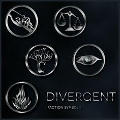 Divergent faction symbols