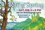 """Christopher Wilkins will conduct for the performance of Stravinsky's """"The Rite of Spring"""" and Beethoven's Symphony No. 6 """"Pastorale."""" Takes place on February 4th. Click for tickets and more info."""