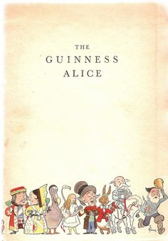 'The Guinness Alice ' (published 1933)