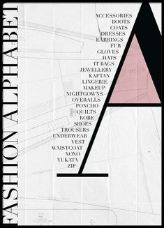 Fashion - F Poster – 30x40Fashion - A Poster – 50x70Fashion - S Poster –...
