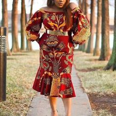 15+ Beautiful African Print Inspired Dresses - Naija Info