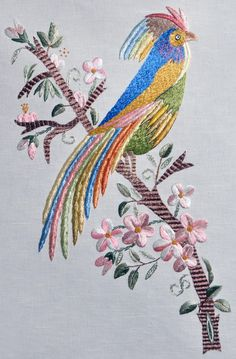 Cicely Mary Barker's Flower Fairies in Ribbon Embroidery & Stumpwork - Embroidery Design Guide Jacobean Embroidery, Japanese Embroidery, Silk Ribbon Embroidery, Crewel Embroidery, Machine Embroidery, Embroidery Books, Embroidery Designs, Embroidery Transfers, Embroidery Patterns