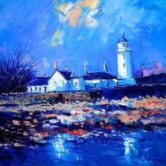 Toward Lighthouse, Winterlight John Lowrie Morrison
