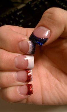 4th of July nails by Jen at Nail Nirvana