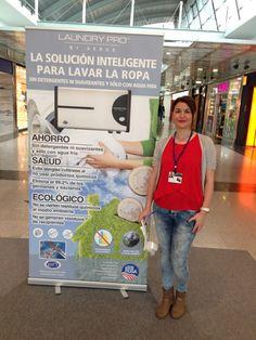 Hasta finales de abril vamos a estar de promoción en el Centro Comercial Intu Asturias. Si pasas por ahí ven a conocer #LaundryPro, un producto que te permite hacer la colada sin detergentes, suavizantes, ni lejías y además usando solo agua fría. Laundry Pro #Asturias