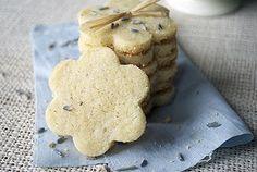 lavender and lemon cookies