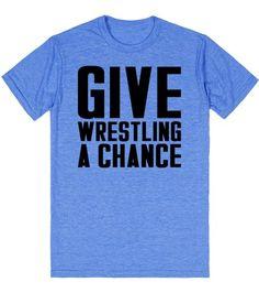 Hey WWE. #GIVEWRESTLINGACHANCE
