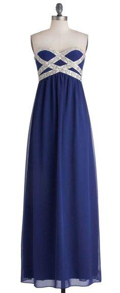 Own the Spotlight Dress in Blue