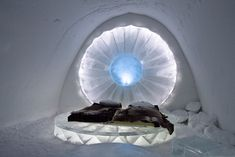 Stay in the Ice Hotel by muriel I Love Winter, Winter Wonder, Snow And Ice, Fire And Ice, Beautiful Mind, Beautiful Places, Ice Hotel Sweden, Places To Travel, Places To Go