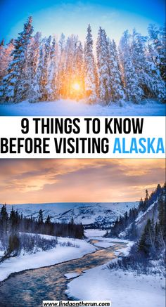 Dreaming of an Alaskan vacation? Here you will fine 9 important things to know before traveling to Alaska| Visiting Alaska| Alaska information| Alaska #alaska #usa #travel #alaskatravel #traveltips