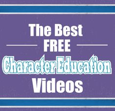 Collection of the best free character education videos. We've curated a list of free character education videos on respect, grit, kindness, honesty, perseverance and more. Teaching Grit, Teaching Kids, Social Emotional Learning, Social Skills, Character Education Videos, Good Character Traits, Growth Mindset Lessons, Elementary School Counselor, 5th Grade Teachers