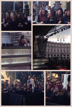 In diretta dal red carpet di #TheAmazingSpiderMan! Francesca Michielin e i fan con BestMovie!
