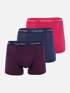 Calvin Klein Underwear Boxershorts in blau / dunkelblau / pink bei ABOUT YOU bestellen. ✓Versandkostenfrei ✓Zahlung auf Rechnung ✓kostenlose Retoure About You, Calvin Klein Underwear, Fit, Calves, Calculus, Boxer, Dark Blue, Baby Cows, Shape