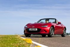 The all-new Mazda MX-5 - if you think it looks great, just wait until you get in the driver's seat. #MX5