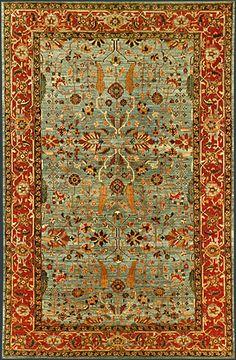 Afghan Mahal Oriental Rug #40328