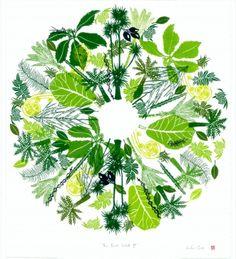 The Bush Walk II Nz Art, Printmaking, Plant Leaves, Gallery, Artist, Plants, Bedroom, Roof Rack, Artists